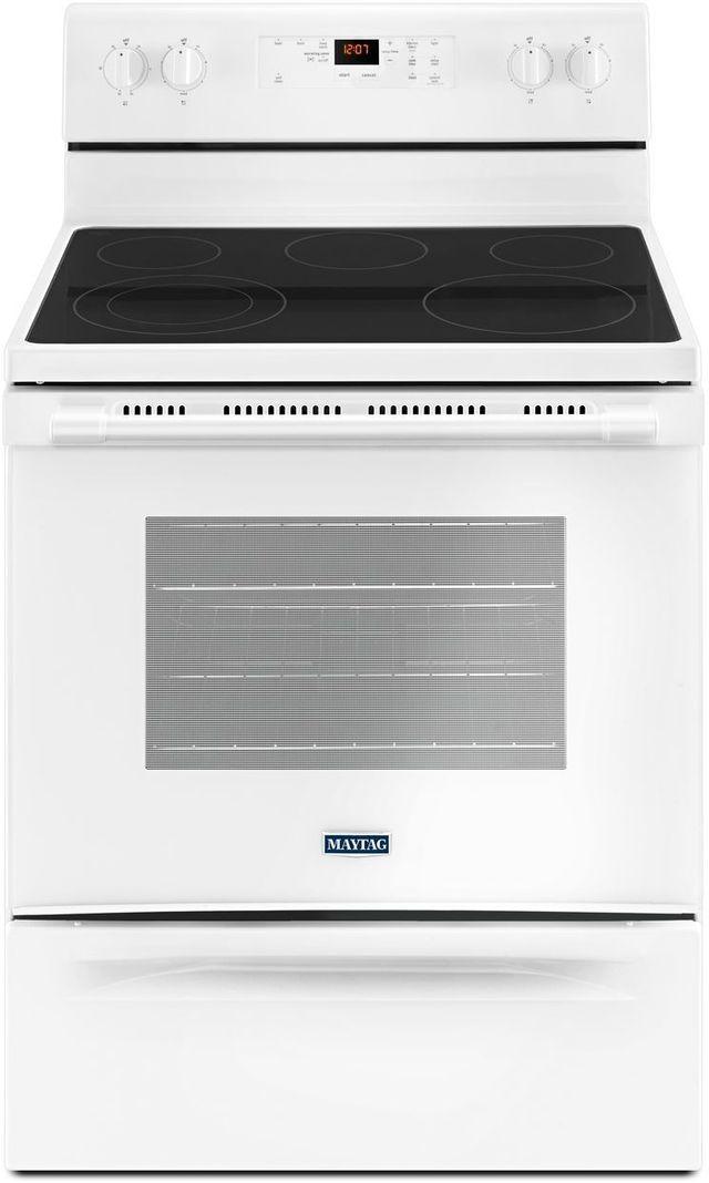 "Maytag® 30"" White Freestanding Electric Range-MER6600FW"
