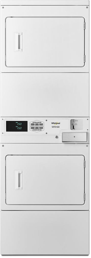 Whirlpool® Commercial 7.4 Cu. Ft. White Stack Dryer-CSP2940HQ