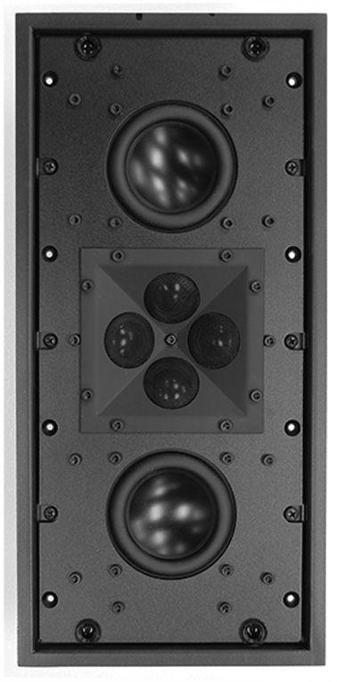 "James Loudspeaker® 3"" 2-Way Shallow Depth In-Wall Speaker-QX330"