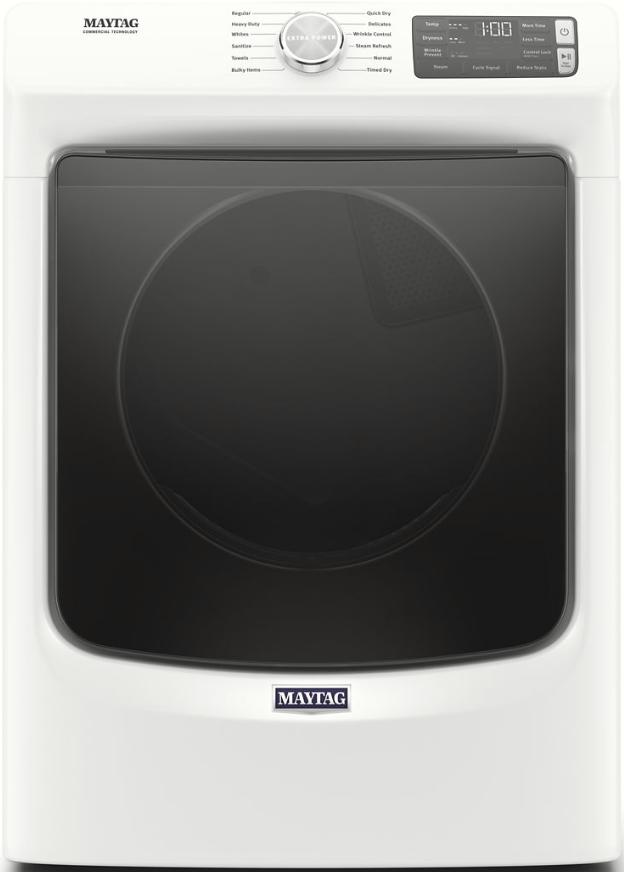 Maytag® 7.3 Cu. Ft. White Electric Dryer-MED6630HW