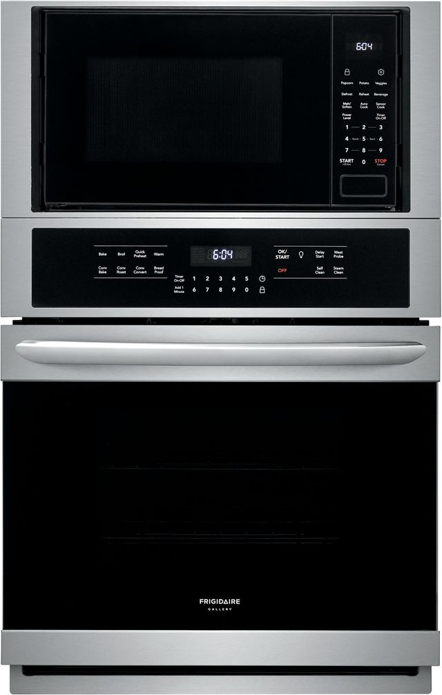 """Frigidaire Gallery® 27"""" Stainless Steel Electric Oven/Micro Combo Built In-FGMC2766UF"""