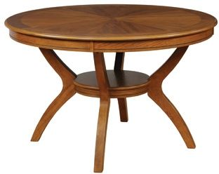 Coaster® Nelms Deep Brown Dining Table-102171