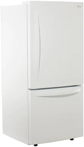 Réfrigérateur à congélateur inférieur de 30 po LG® de 22,1 pi³ - Blanc-LDNS22220W