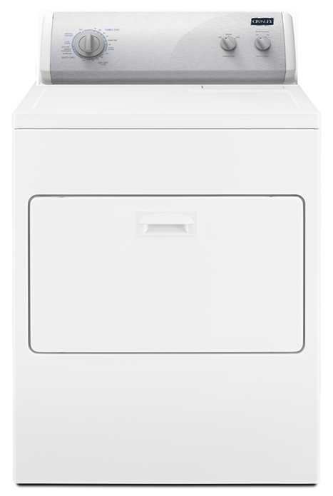 Crosley® 7.0 Cu. Ft. White Front Load Gas Dryer-CGD7006GW