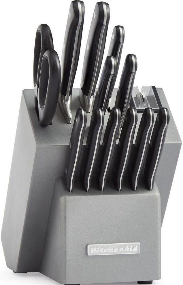 KitchenAid® Classic Forged 14-Piece Silver Cutlery Set-KKFTR14SL