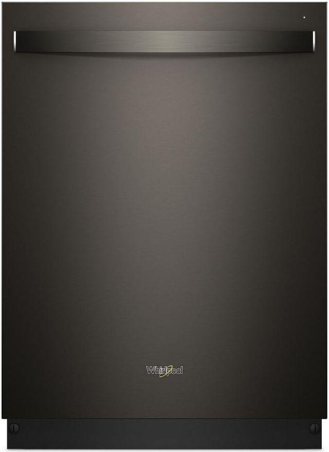 "Whirlpool® 24"" Built In Dishwasher-Black Stainless-WDT750SAHV"