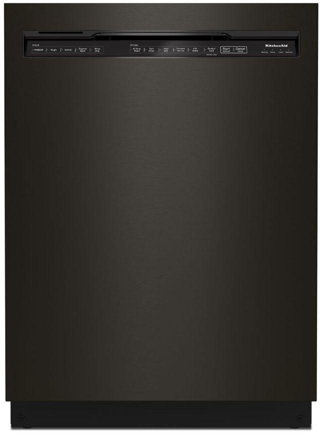 "KitchenAid® 24"" Black Stainless Steel with PrintShield™ Built In Dishwasher-KDFE204KBS"