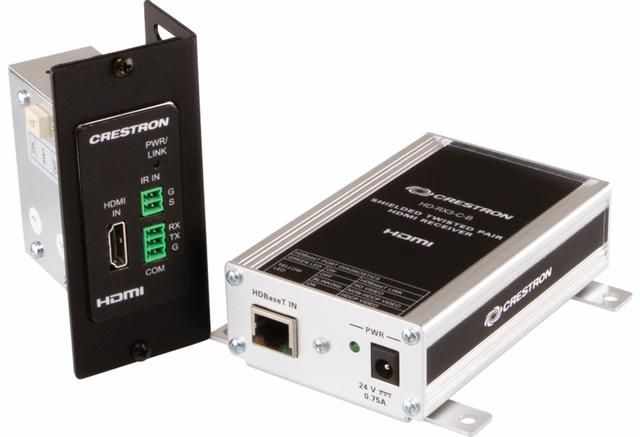 Crestron® 4K HDMI® Over HDBaseT® Extender-HD-EXT3-C-B_SYSTEM