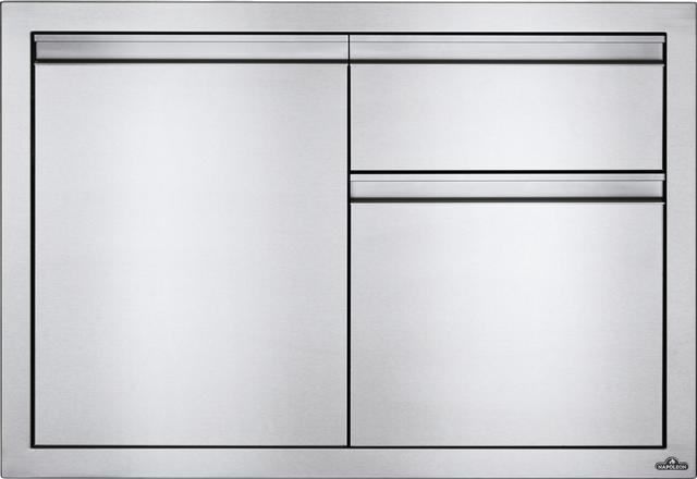 Tiroir de rangement d'extérieur Napoleon® - Acier inoxydable-BI-3624-1D2DR