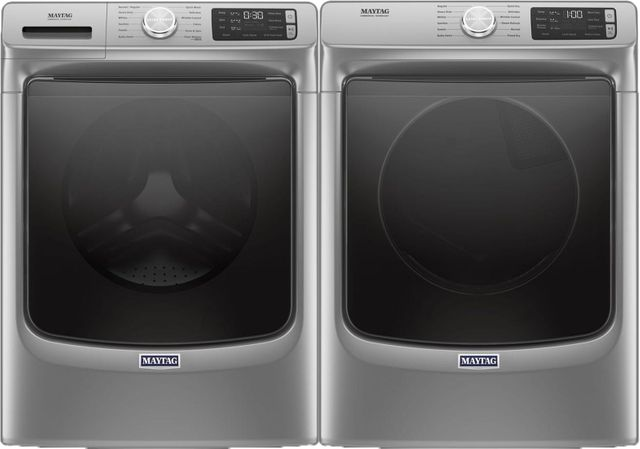 Maytag® Laundry Pair-Metallic Slate-MALAUMED6630HC