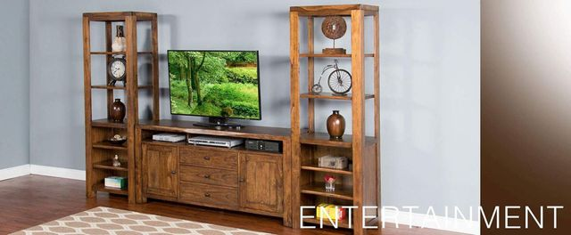 Sunny Designs Cary Live Edge Nature Walk Live Edge Pier-3592NW-P