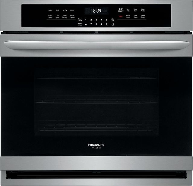"""Frigidaire Gallery® 30"""" Stainless Steel Single Electric Wall Oven with Air Fry-FGEW3069UF"""