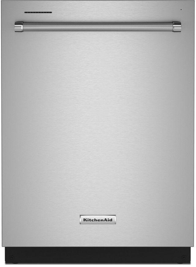 "KitchenAid® 24"" Stainless Steel with Printshield Built In Dishwasher-KDTE204KPS"