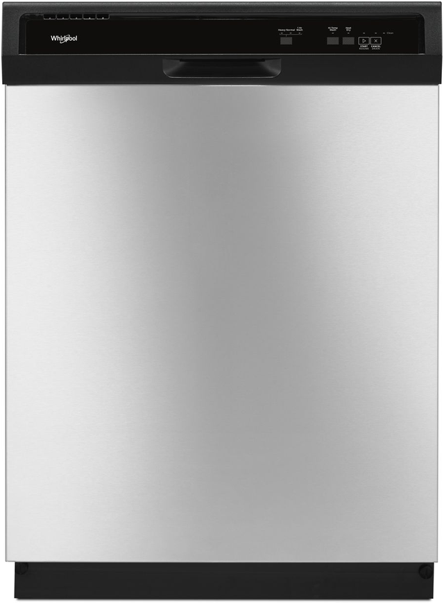 """Whirlpool® 24"""" Built In Dishwasher-Stainless Steel-WDF130PAHS"""
