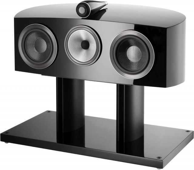 Bowers & Wilkins Gloss Black HTM2 D3 Centre Channel Speaker-HTM2 D3-Black
