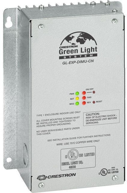 Crestron® Green Light® Universal Dimmer Expansion Module-GL-EXP-DIMU-CN