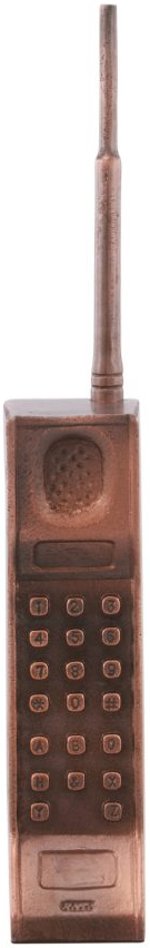 Moe's Home Collections Bronze Cell Phone Table Top Decor-NM-1033-31