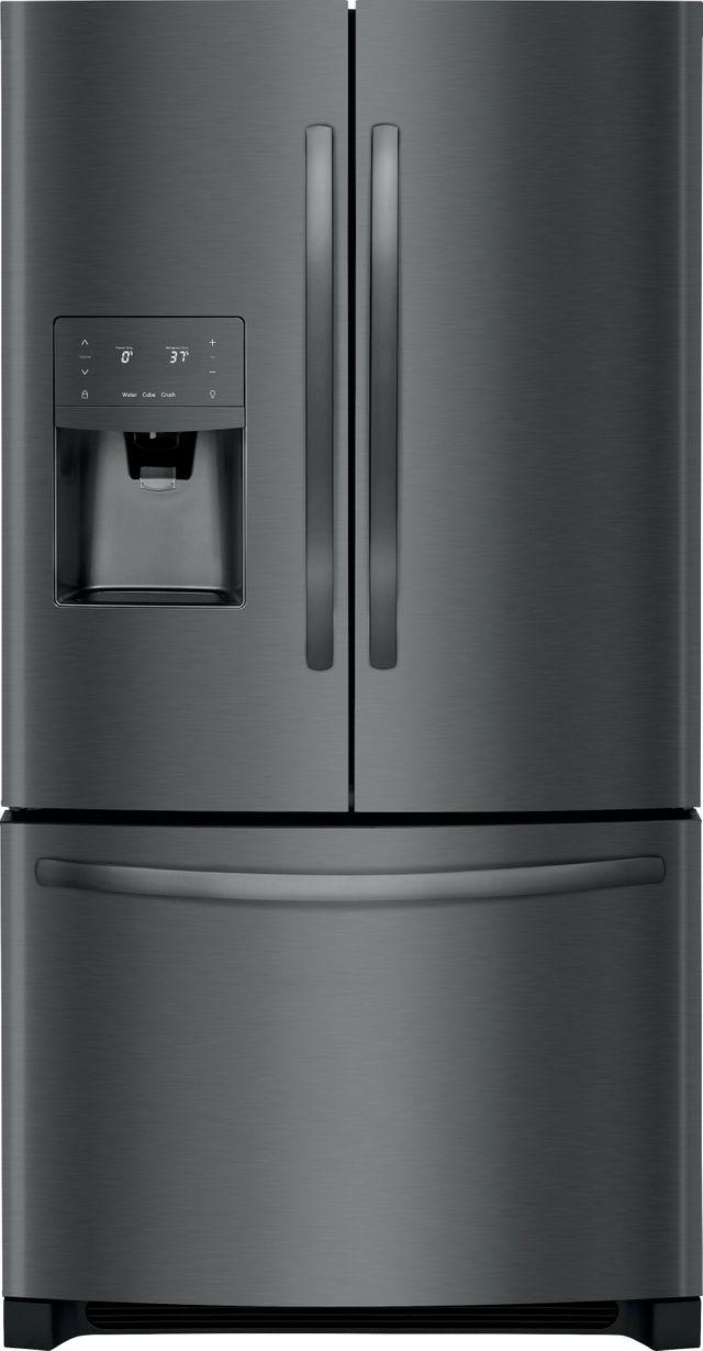 Frigidaire® 26.8 Cu. Ft. Black Stainless Steel French Door Refrigerator-FFHB2750TD