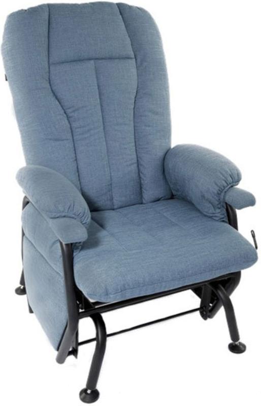Fauteuil inclinable AGE en tissu bleu PEL International®-761526