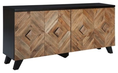 Signature Design by Ashley® Robin Ridge Two-Tone Brown Door Accent Cabinet-A4000031