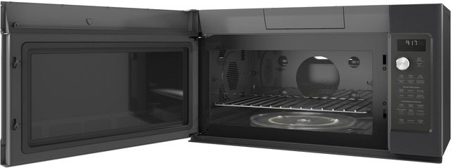 Café™ 1.7 Cu. Ft. Black Slate Convection Over the Range Mircowave Oven-CVM9179ELDS