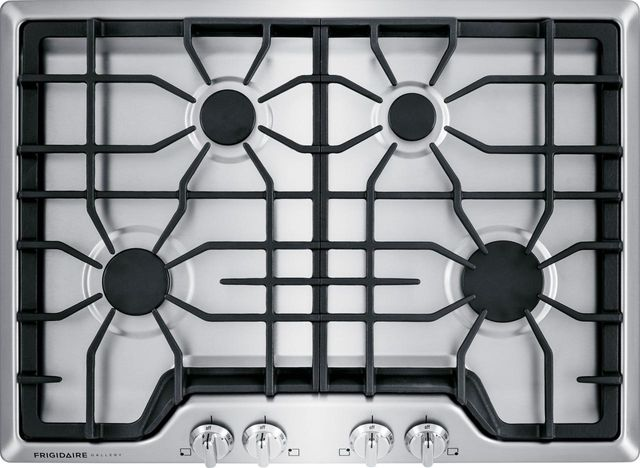"""Frigidaire Gallery® 30"""" Stainless Steel Gas Cooktop-FGGC3045QS"""