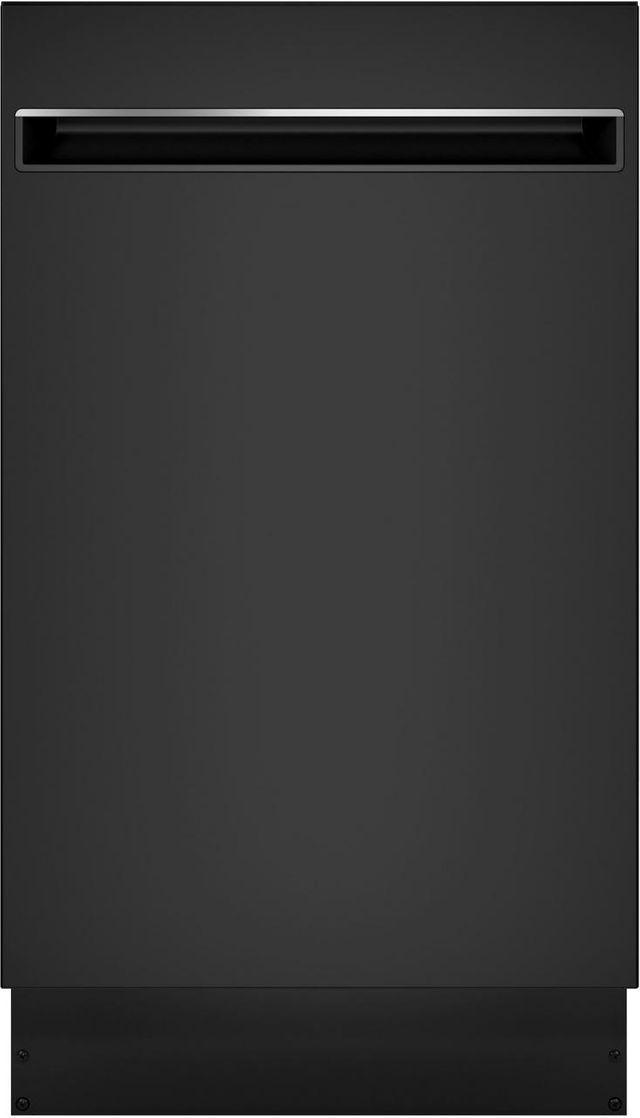 """GE Profile® 18"""" Black Built In Dishwasher-PDT145SGLBB"""