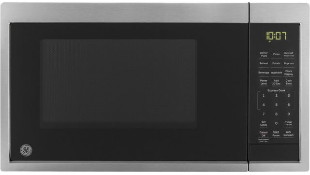 GE® Countertop Microwave-Stainless Steel-JES1097SMSS