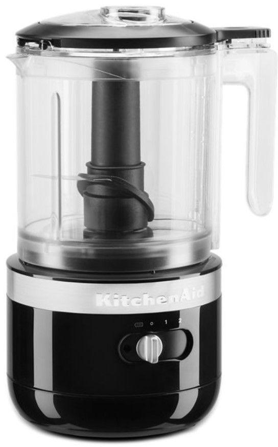 KitchenAid® 5 Cup Onyx Black Cordless Food Processor-KFCB519OB
