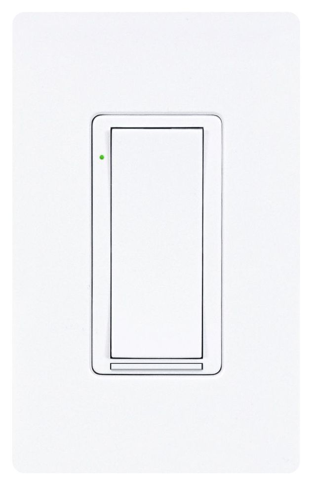 Crestron® Zūm™ Wireless ELV Wall-Box Dimmer-White-ZUMMESH-DELV-W-S