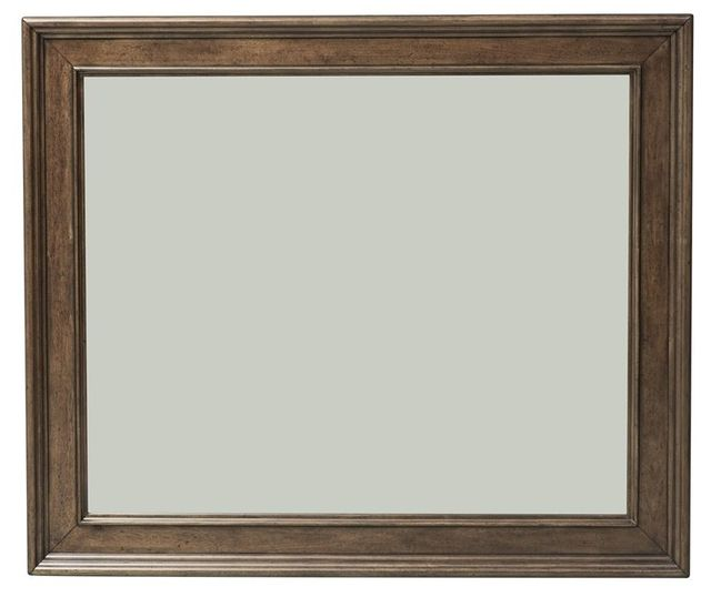 Liberty Furniture Rustic Traditions Rustic Cherry Landscape Mirror-589-BR51