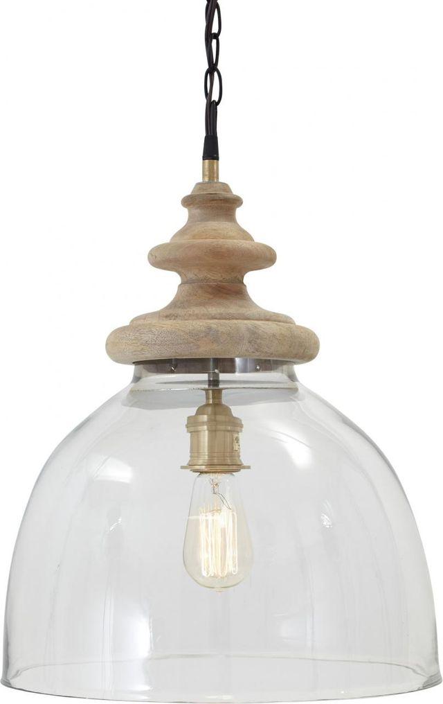 Signature Design by Ashley® Farica Transparent Glass Pendant Light-L000138