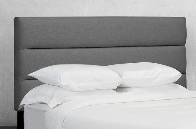 Titus Furniture Rosemount Charcoal Queen Upholstered Headboard-R149Q-60