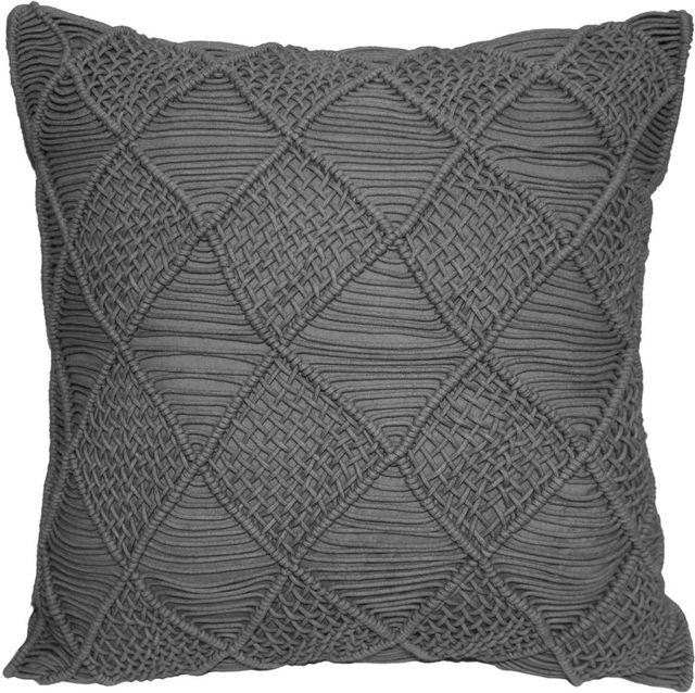 Coussin décoratif Kempton, gris, Renwil®-PWFL1211