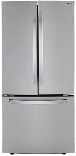 LG 25.2 Cu. Ft. PrintProof™ Stainless Steel French Door Refrigerator-LRFCS2503S