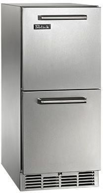 Perlick Signature Series 2.8 Cu. Ft. Outdoor Refrigerator Drawers-Stainless Steel-HP15RO-5