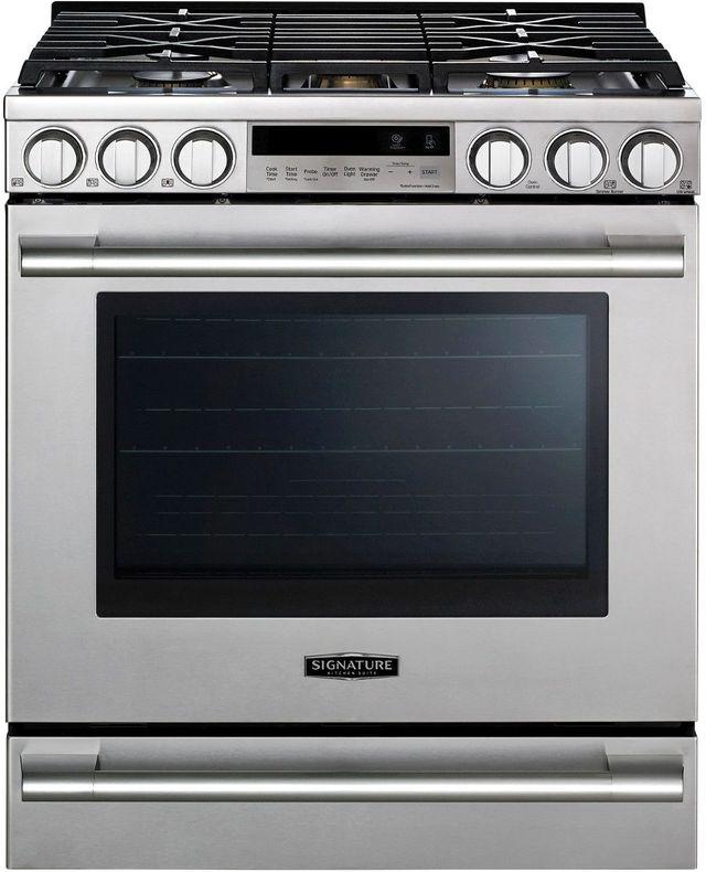 "Signature Kitchen Suite 30"" Stainless Steel Slide In Gas Range-UPSG3014ST"