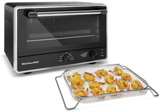 KitchenAid® Black Matte Countertop Oven-KCO124BM