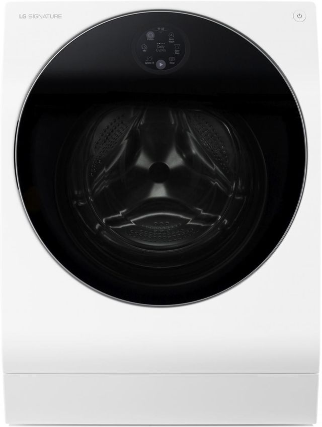 LG Signature 2.8 Cu. Ft. White Front Load Washer/Dryer Combo-LUWM101HWA