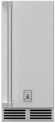 """Hestan Professional 15"""" Stainless Steel Outdoor Ice Machine-GIMR15"""