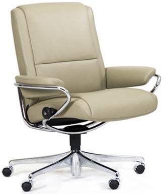Stressless® by Ekornes® Paris Low Back Star Base Office Chair-1337097