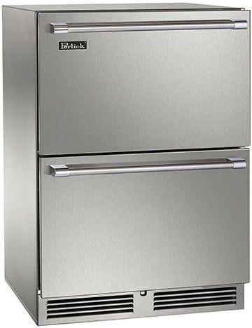 Perlick® Signature Series 5.2 Cu. Ft. Drawer Freezer-Panel Ready-HP24FS-3-6