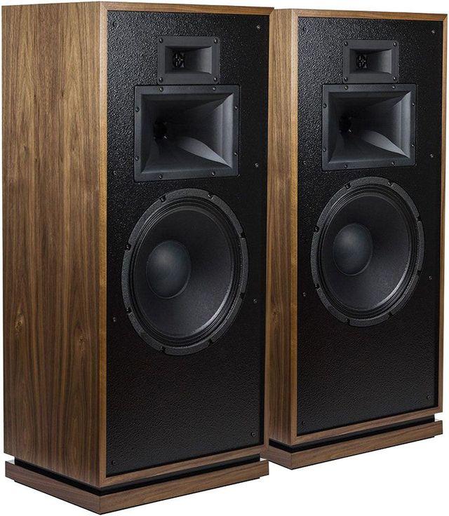 Klipsch® Heritage American Walnut Forte® III Floorstanding Speaker Pair-1064222