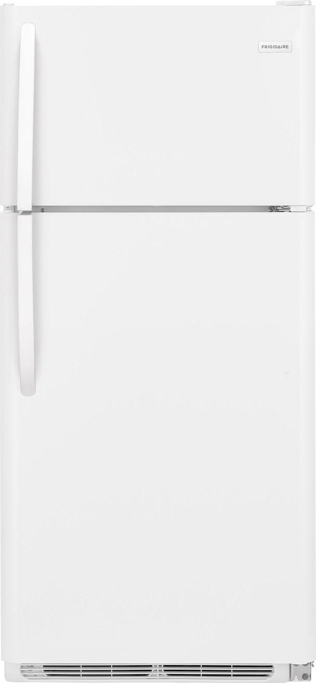 Frigidaire® 18 Cu. Ft. White Top Freezer Refrigerator-FFTR1821TW
