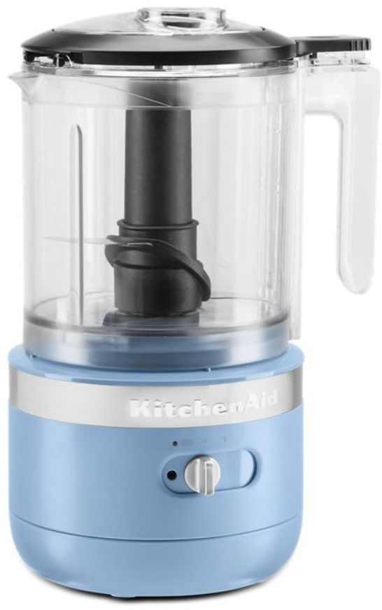 KitchenAid® 5 Cup Blue Velvet Cordless Food Processor-KFCB519VB