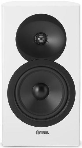 """Revel® Concerta2™ Series White Gloss 6.5"""" Bookshelf Loudspeaker-M16WH"""