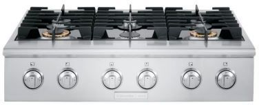 """Electrolux Icon 36"""" Gas Slide In Cooktop-Stainless Steel-E36GC76PPS"""
