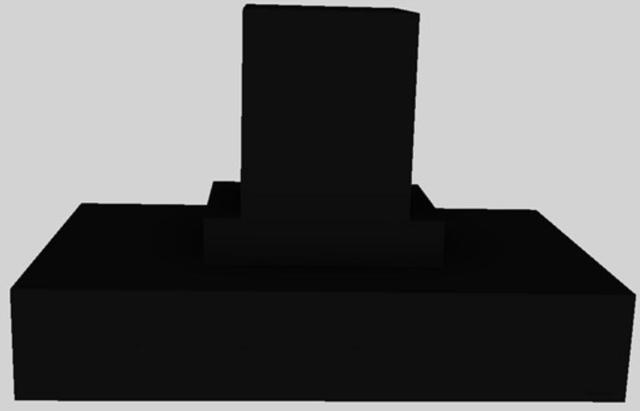 "Vent-A-Hood® 48"" Contemporary Island Range Hood-Black-CIEH9-248 BL"