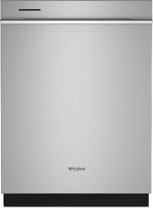 """Whirlpool® 24"""" Fingerprint Resistant Stainless Steel Built In Dishwasher-WDTA80SAKZ"""