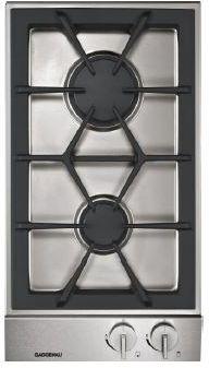"""Gaggenau 200 Series 11"""" Modular Cooktop-Stainless Steel-VG232214CA"""